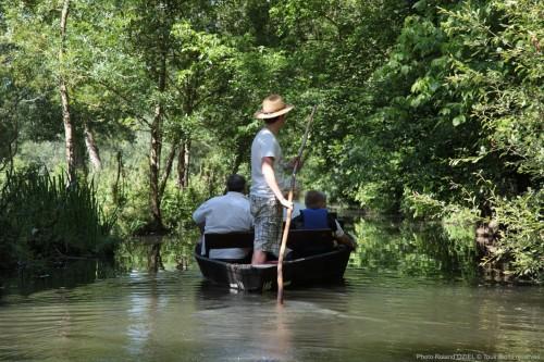 Balade en barque sur la Venise Verte dans le Marais Poitevin