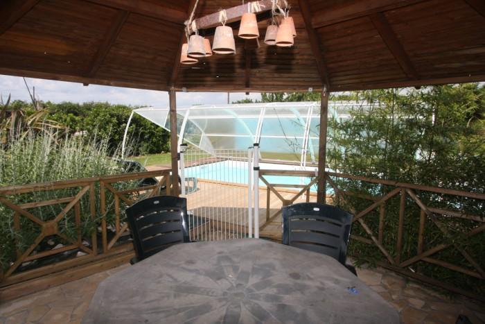 Chambres d'hotes avec piscine couverte chauffée dans le marais poitevin