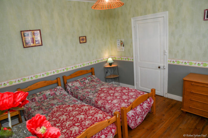 Chambre du gite à l'étage