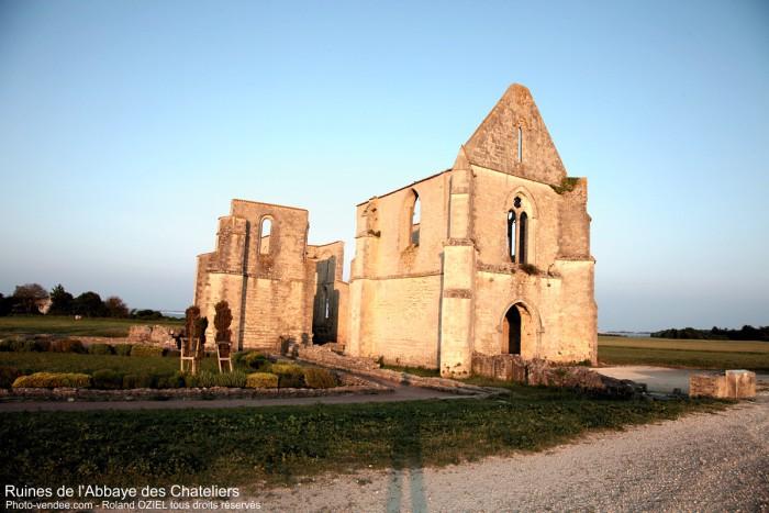 Abbaye des Chatealiers Ile de Ré