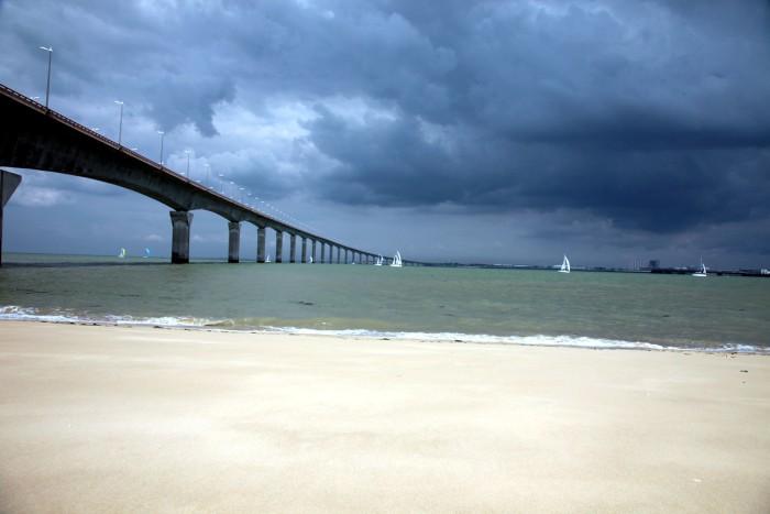 Pont de la Rochelle à l'Ile de Ré 3 km