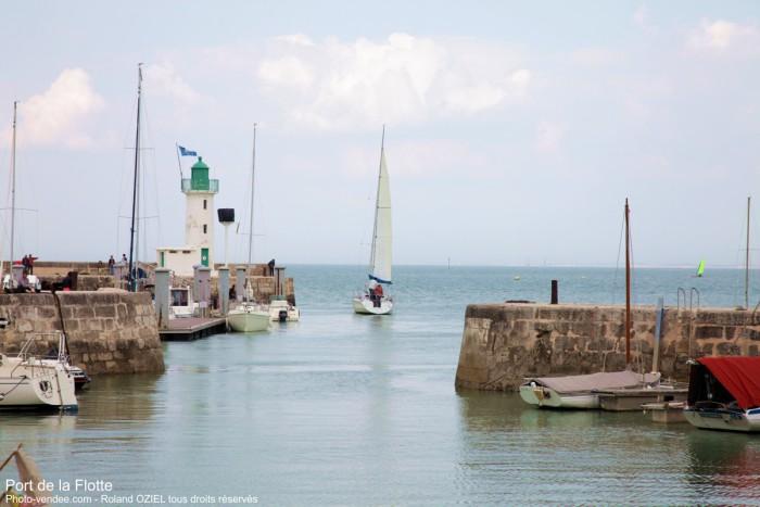 Le Port de la Flotte sur l'Ile de Ré