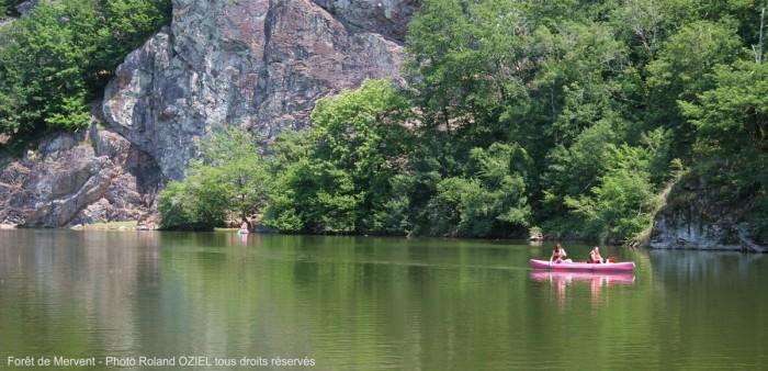 Canoe et varrape Mervent