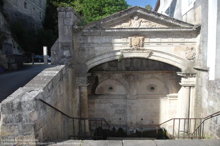 La Fontaine des Quatre Tias Fontenay le Comte